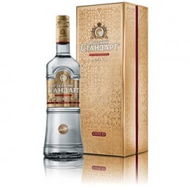 Bottle of Russian Standard Gold Vodka