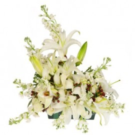 Heavenly Embrace Floral Centerpiece