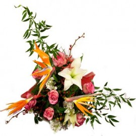 Exotic Delights Floral Display