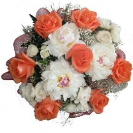 Peaches and Dreams Bouquet