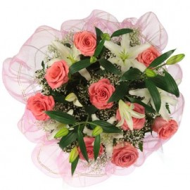 Love and Lilies Bouquet