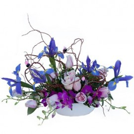 Twilight Fancies Floral Centerpiece