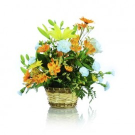 Warmest Thoughts Floral Basket