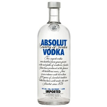 Bottle of Absolut