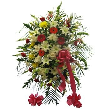 Vibrant Remembrance Floral Display