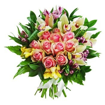 Burst Of Romance Bouquet