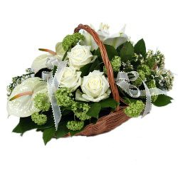 For My Love Flower Basket