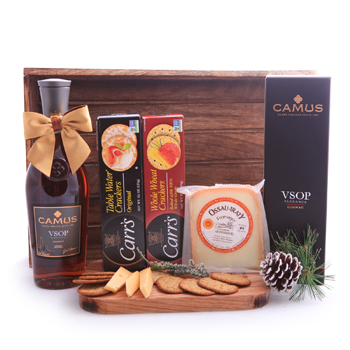 Camus Cognac and Cheese