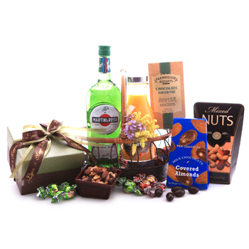 Martini and Rossi Plus Chocolates Gift