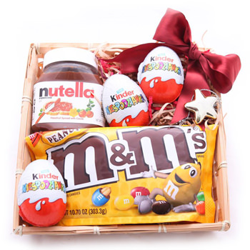 Treats for Three Kids Gift Box