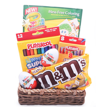 Twice as Nice Kids Gift Basket