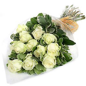 Bouquet of 11 Virgin Roses