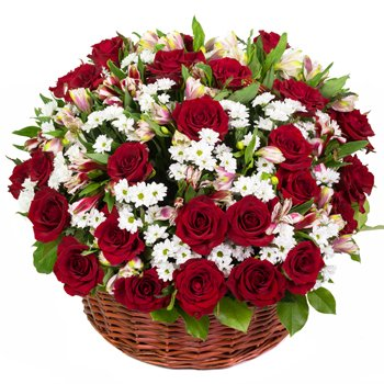 Your Heart Flower Basket