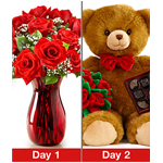 Women's Day flowers and gifts to Russia