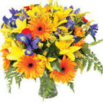 Spring Sparks Bouquet to Russia