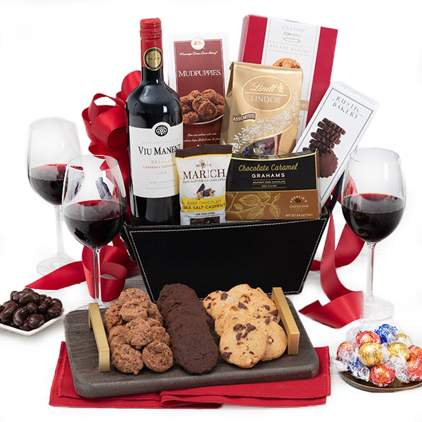 Love in the Dark Gourmet Gift Basket