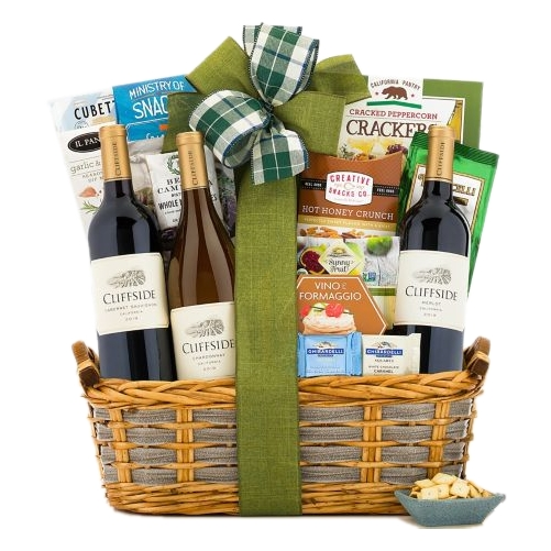 Triple Delight Gift Basket