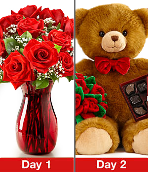 Two Romantic Surprises Gift Set