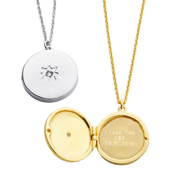 Written from the Heart Message Locket